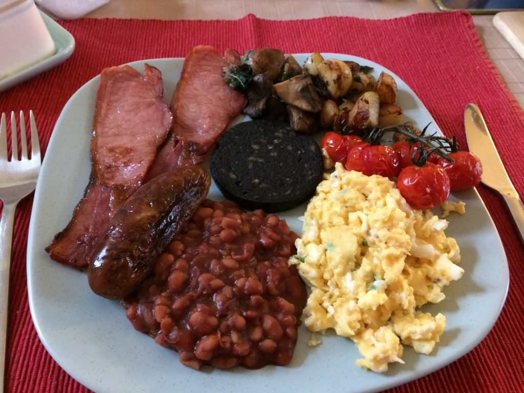 Full English Breakfast Daves Delicious Delights