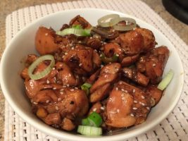 spicy teriyaki chicken